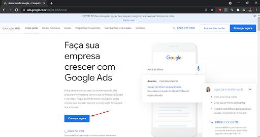 google ads em marketing para escritórios de contabilidade