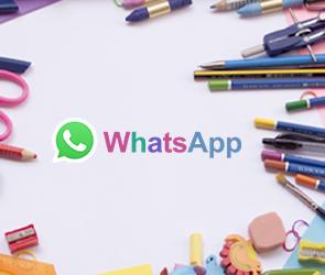 mudar as cores do WhatsApp
